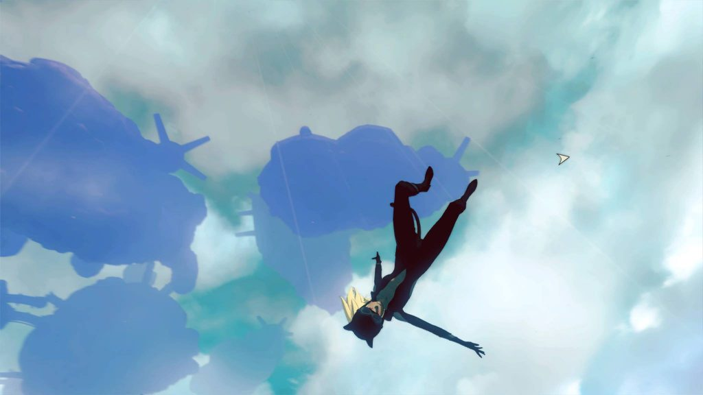 PS4 Kat Screen Gravity Rush