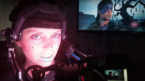 Hellblade Motion Capture Screen
