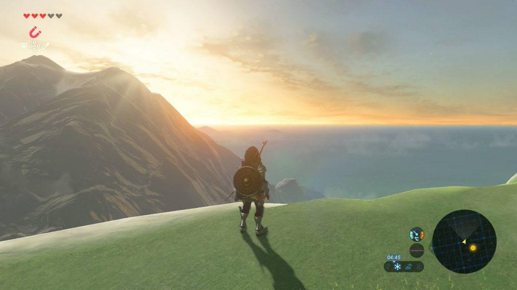 Legend of Zelda: Breath of the Wild Switch Screenshot 1