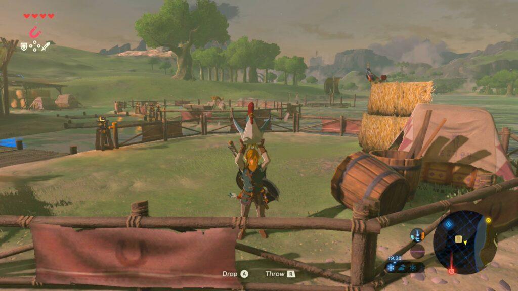 Legend of Zelda Huhn