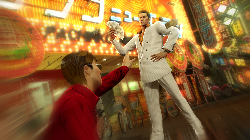 Money Yakuza Zero PS4