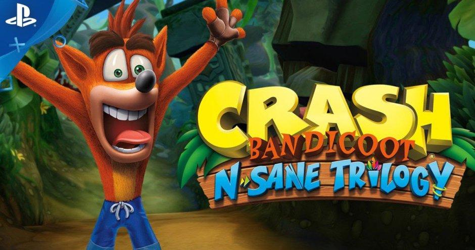 Crash Bandicoot N. Sane-Trilogie ab Sommer erhältlich ...