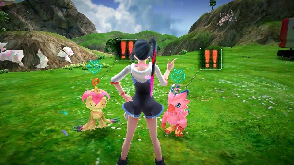 Screenshot Digimon PS4