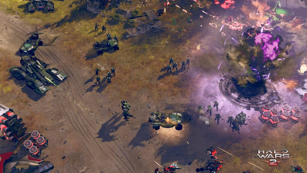 Xbox One Screen Halo Wars