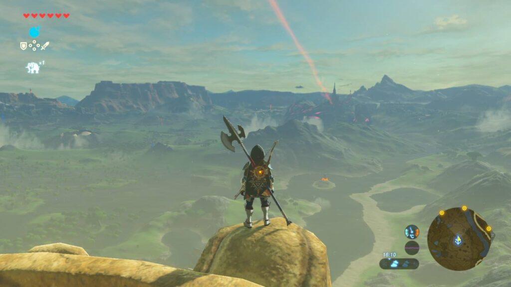 Nintendo Switch Link Weitsicht