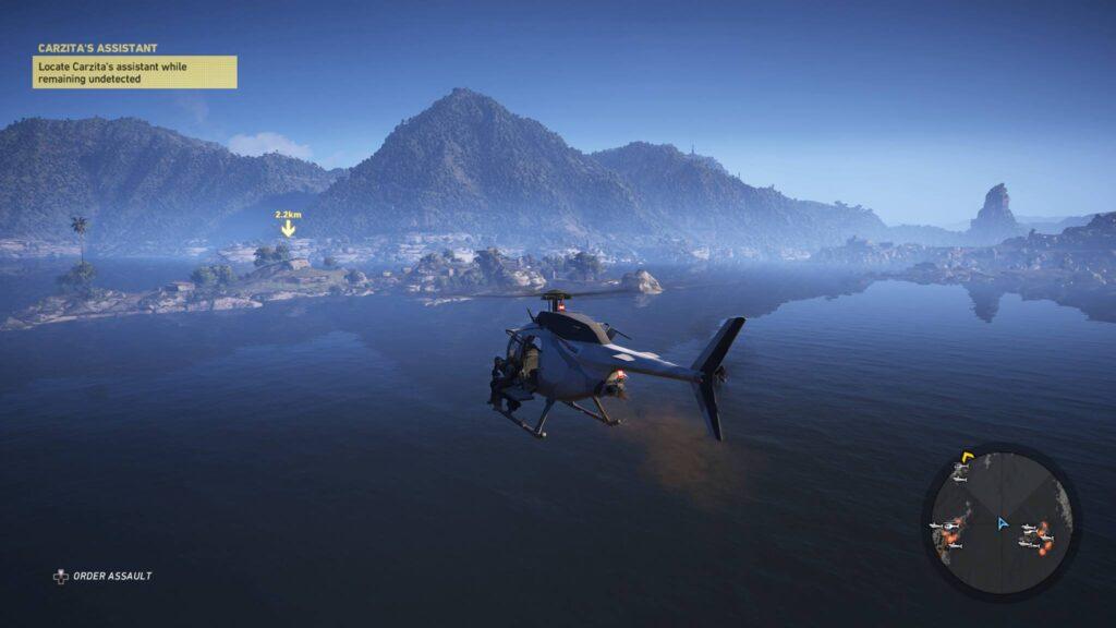 Helicopter Wildlands Screen