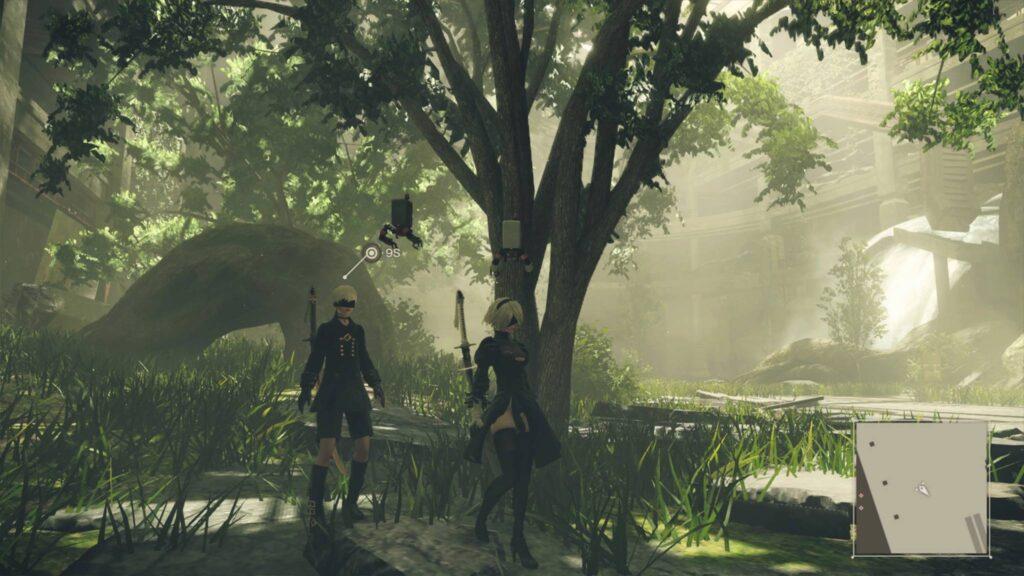 PS4 Pro Screenshot Nier