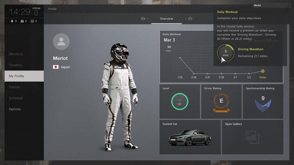 PS4 GT Sport Screenshot