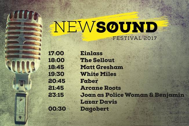 Line Up New Sound Festival