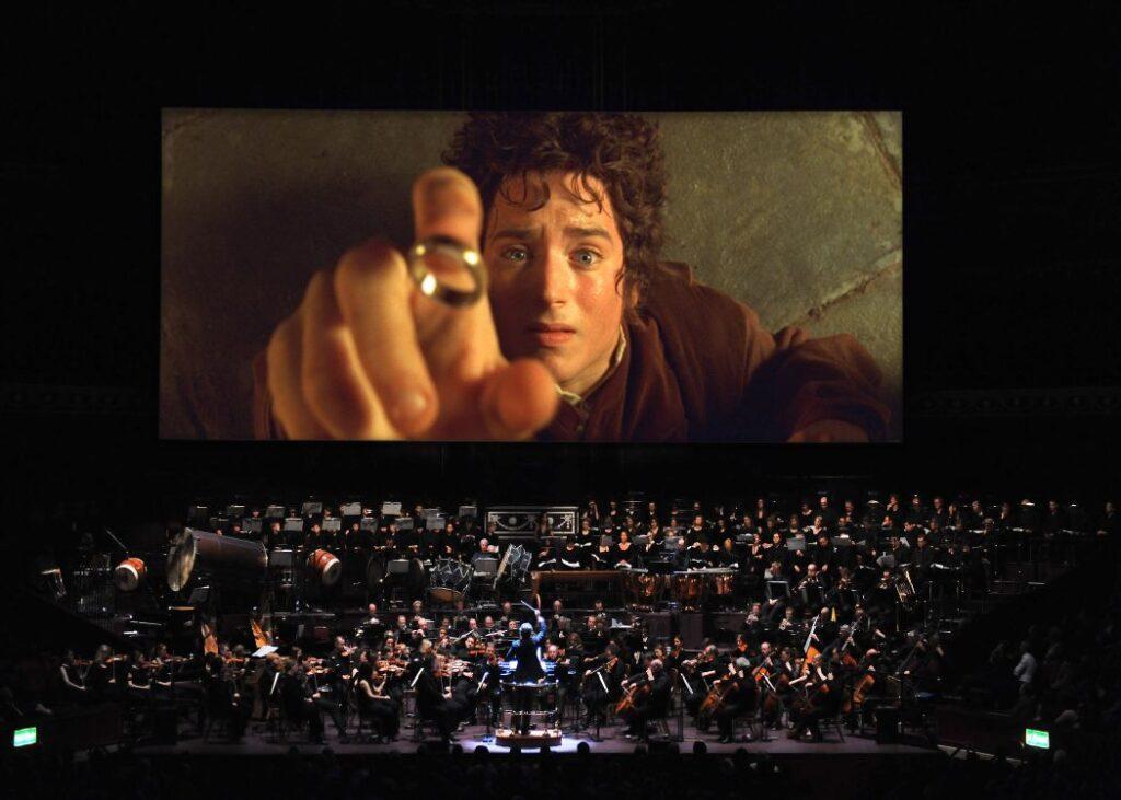 Frodo Screen Die Gefährten Stadthalle