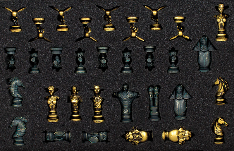 Zelda Schachbrett Figuren