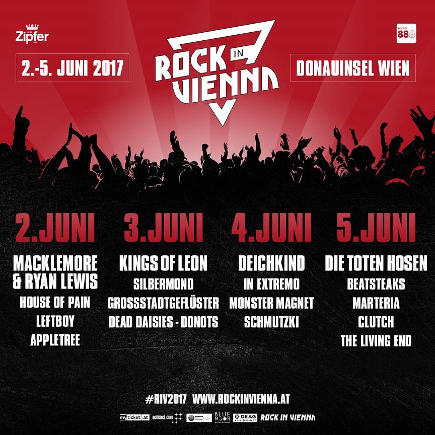 Rock in Vienna Festival Artwork