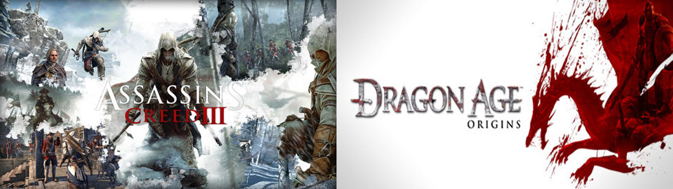 Coverbild AC III und Dragon Age Origins