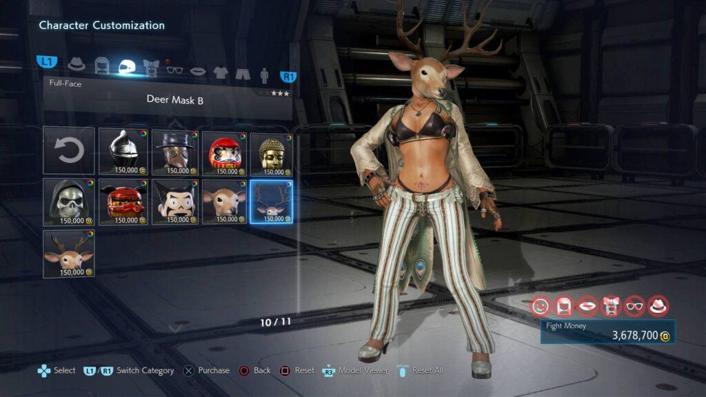 Tekken 7 Charakter Erstellung
