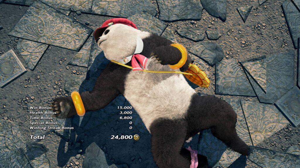 Screenshot Panda Tekken