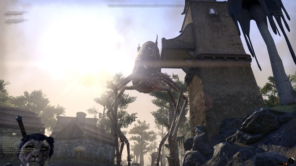 Elder Scrolls Online Floh Screen Morrowind