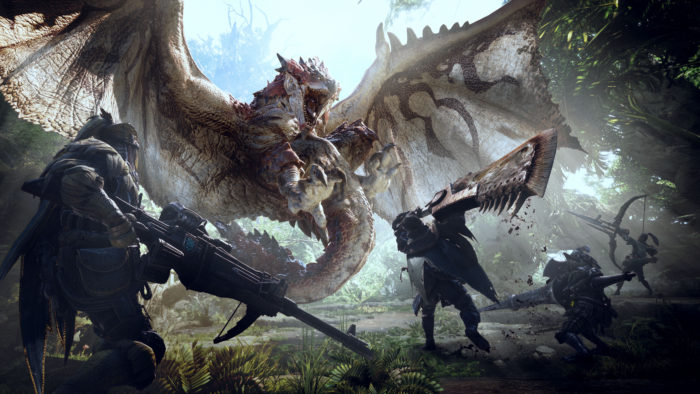 Monster Hunter World Screen