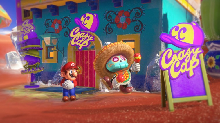 Mario Nintendo Switch Screen