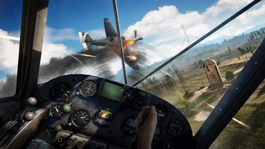 Far Cry 5 Luftkampf