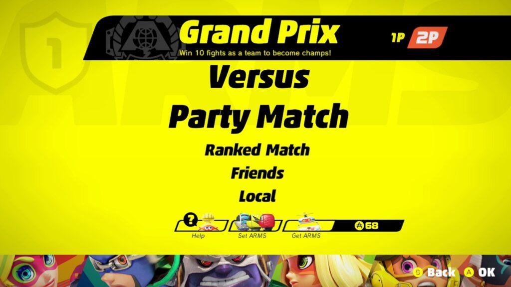 Arms Grand Prix Screenshot
