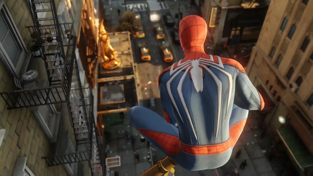 PS4 Pro Spider Man Insomniac