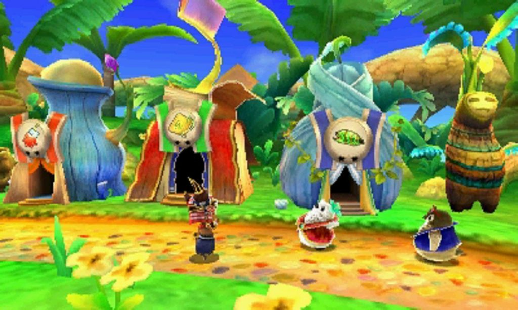 Ever Oasis Screen 3DS