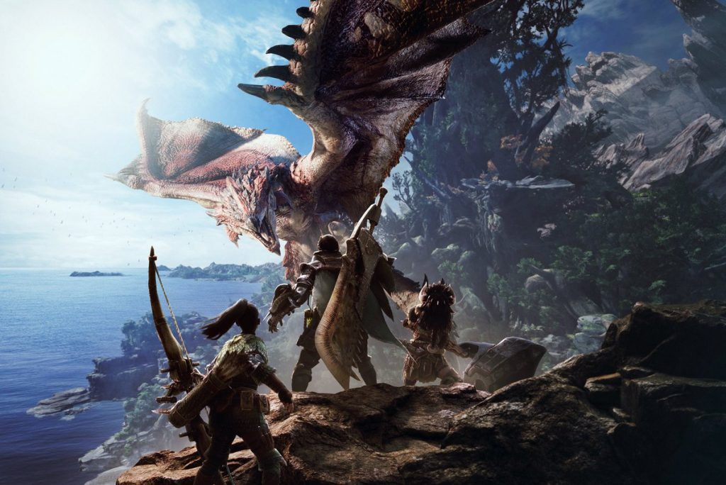 PS4 Pro Monster Hunter World