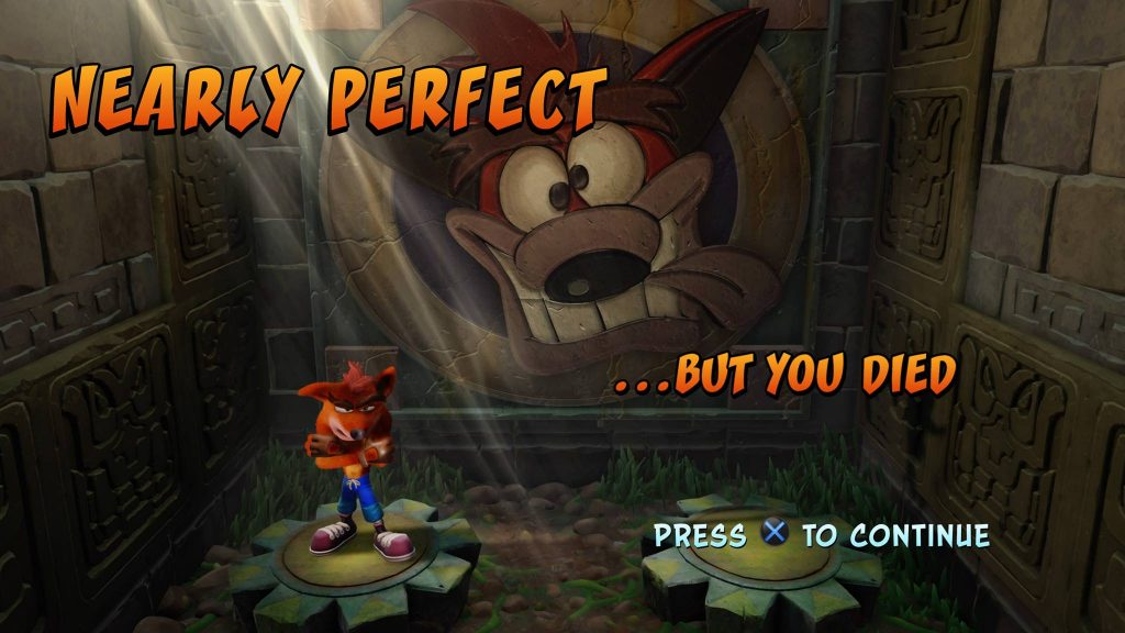 Crash Bandicoot Screenshot PS4
