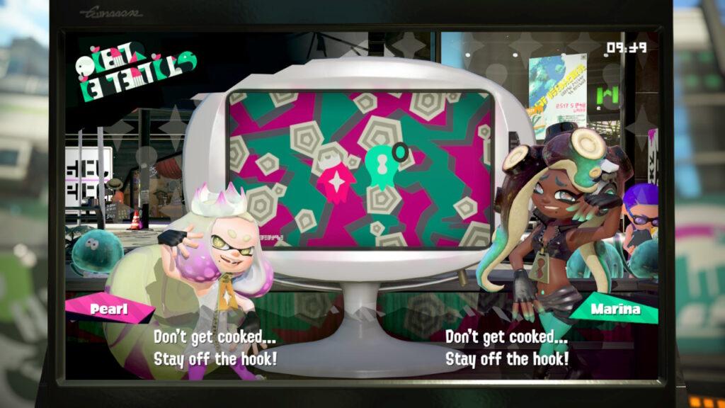 Nintendo Switch Moderatorin Screen