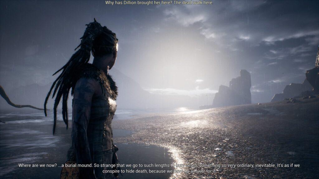 PS4 Pro Senua Screenshot