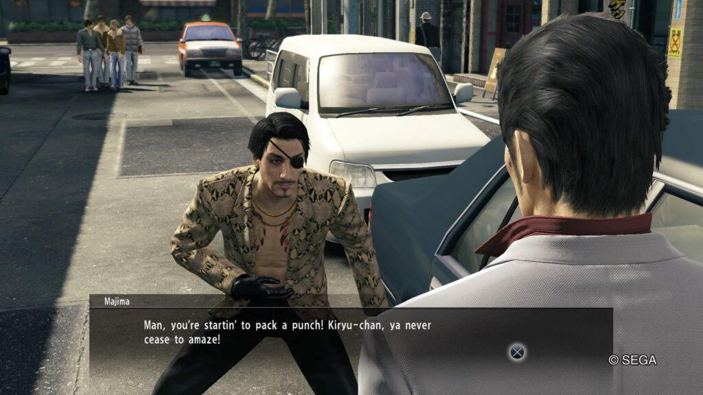 Screenshot Yakuza Kiwami