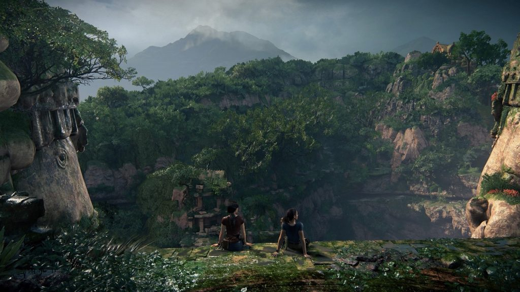 Screenshot PS4 Pro Uncharted Lost