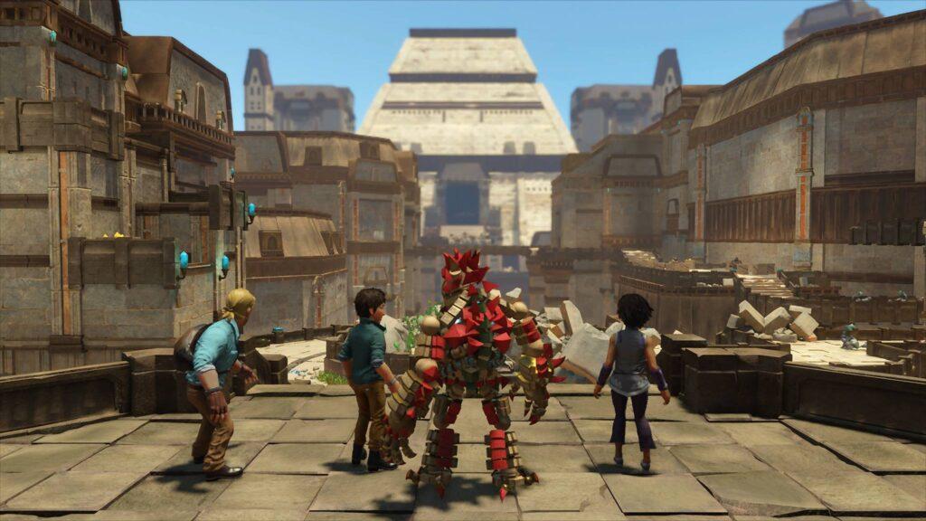 PS4 Pro Knack 2 Screenshot