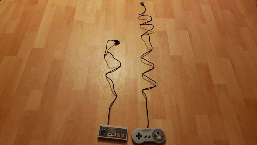 Kabel Länge SNES Mini Controller