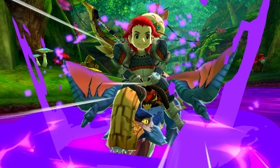 New 3DS Monster Hunter Stories