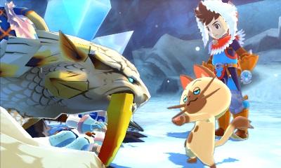 Screen Monster Hunter Stories 3DS