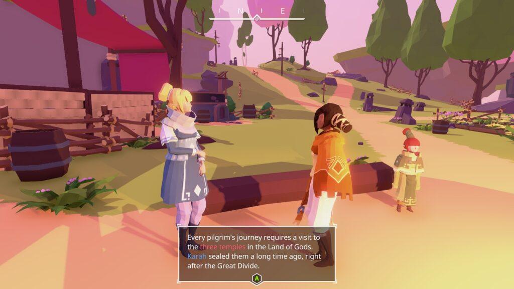 Aer Indie Game Screen
