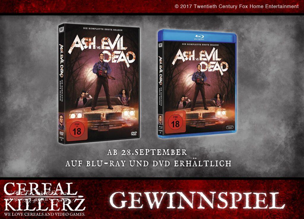 Blu Ray Ash vs. Evil Dead