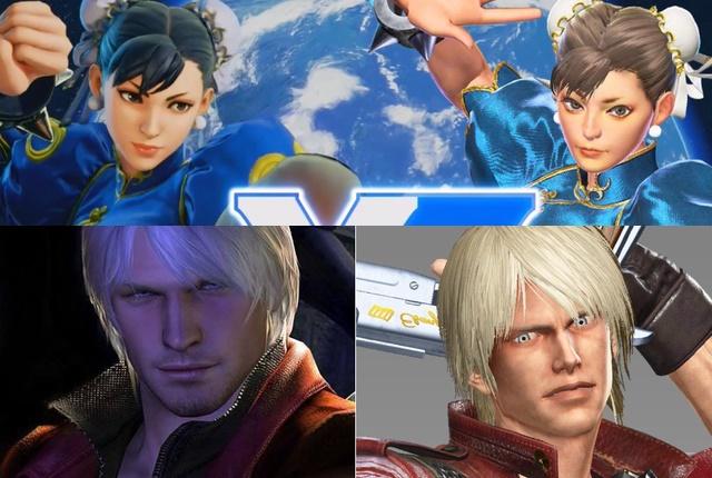 Chun Li Dante Marvel vs. Capcom