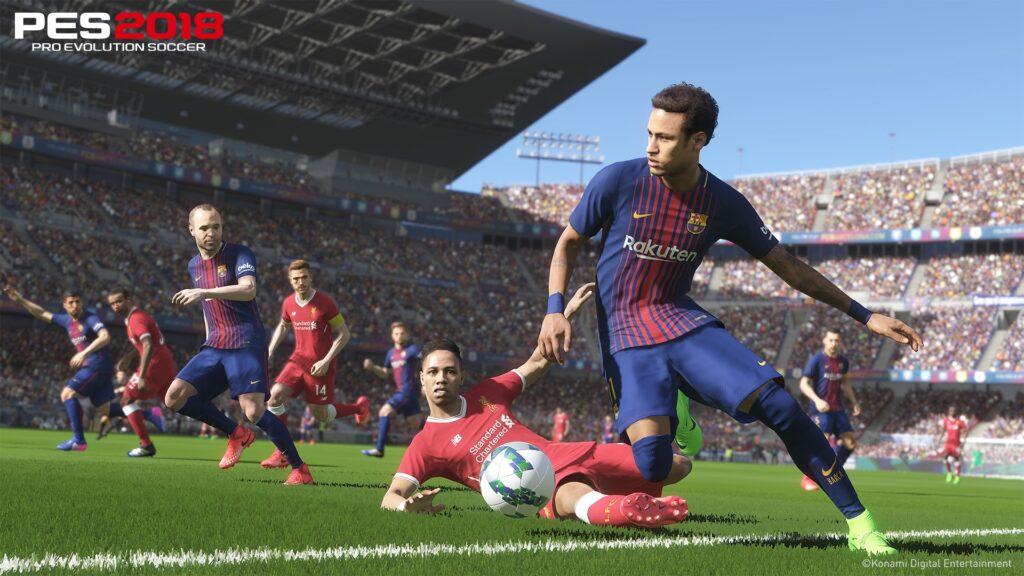 PS4 Pro Pro Evo 2018
