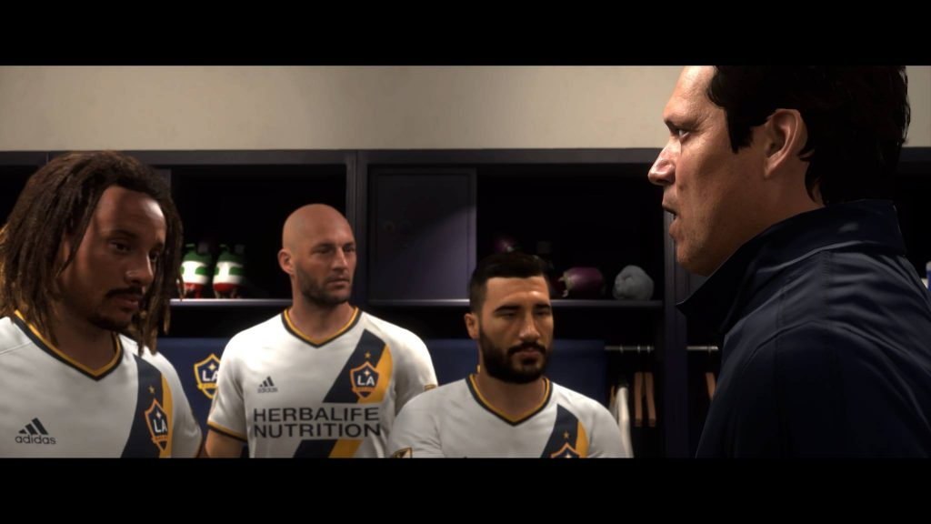 FIFA 18 The Journey Alex Hunter Kabine