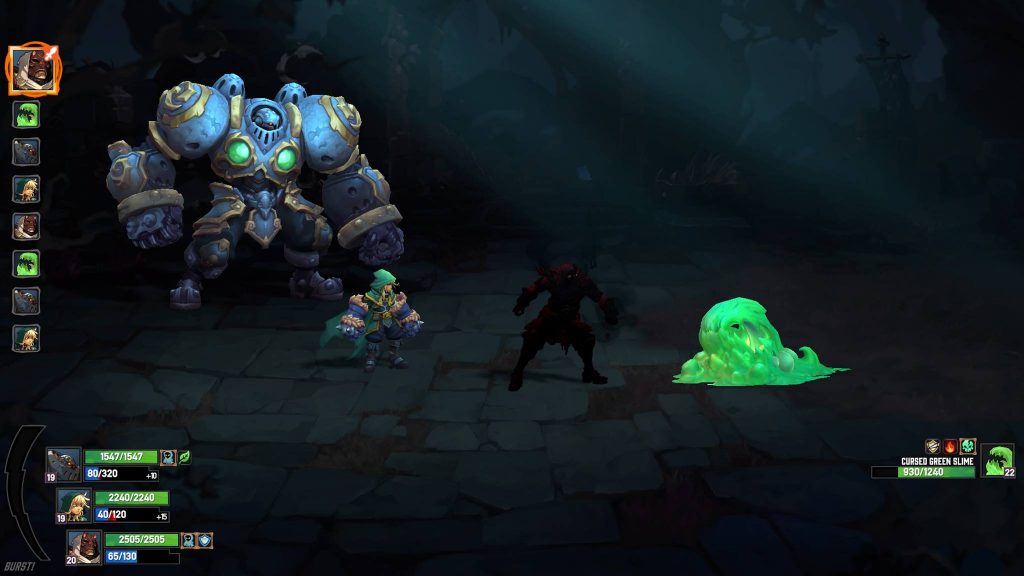 Battle Chasers Screen PS4 Pro