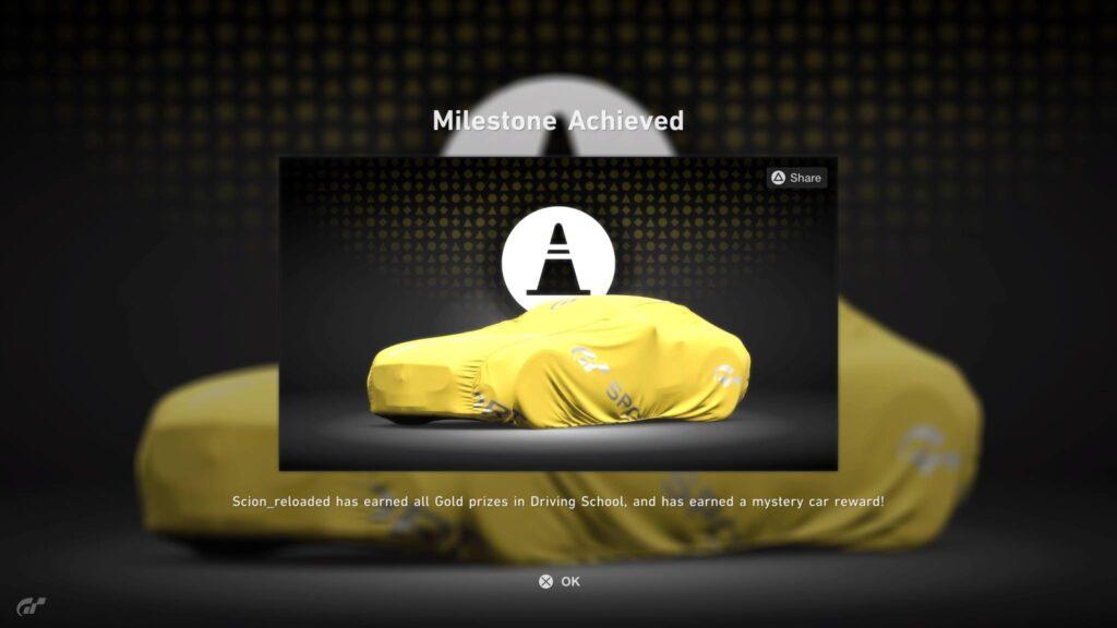 Lizenzprüfung Gran Turismo Sport