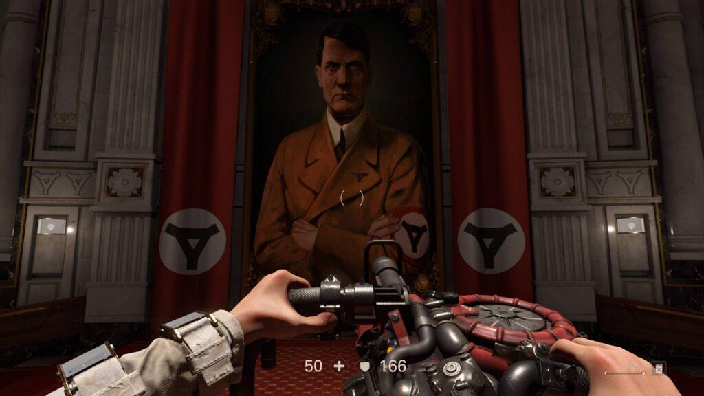 PS4 Pro Wolfenstein 2