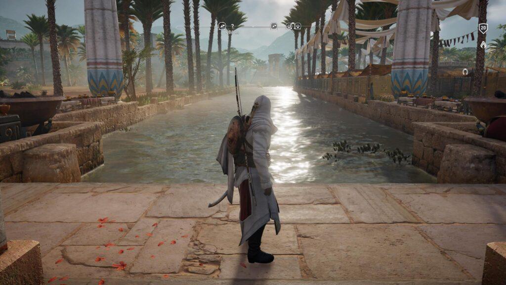 AC Origins Wasser Screenshot PS4
