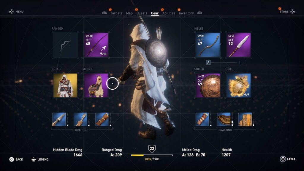 Upgrade Screenshot AC Origins