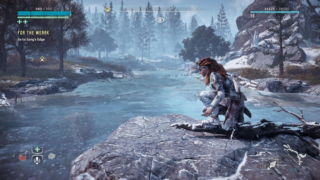 Screenshot Aloy Schnee