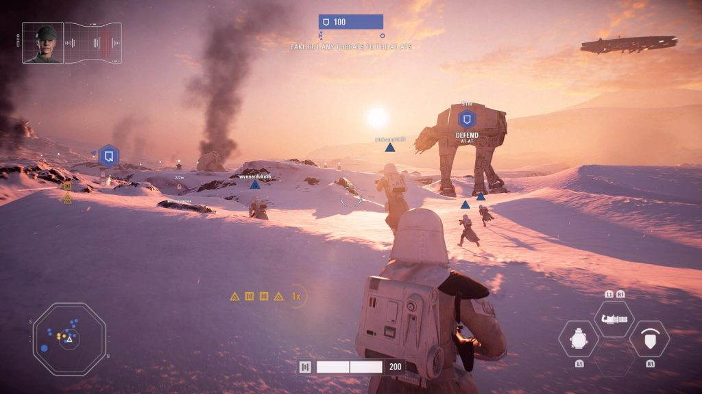 Screenshot PS4 Star Wars Battlefront 2 Hoth Cerealkillerz