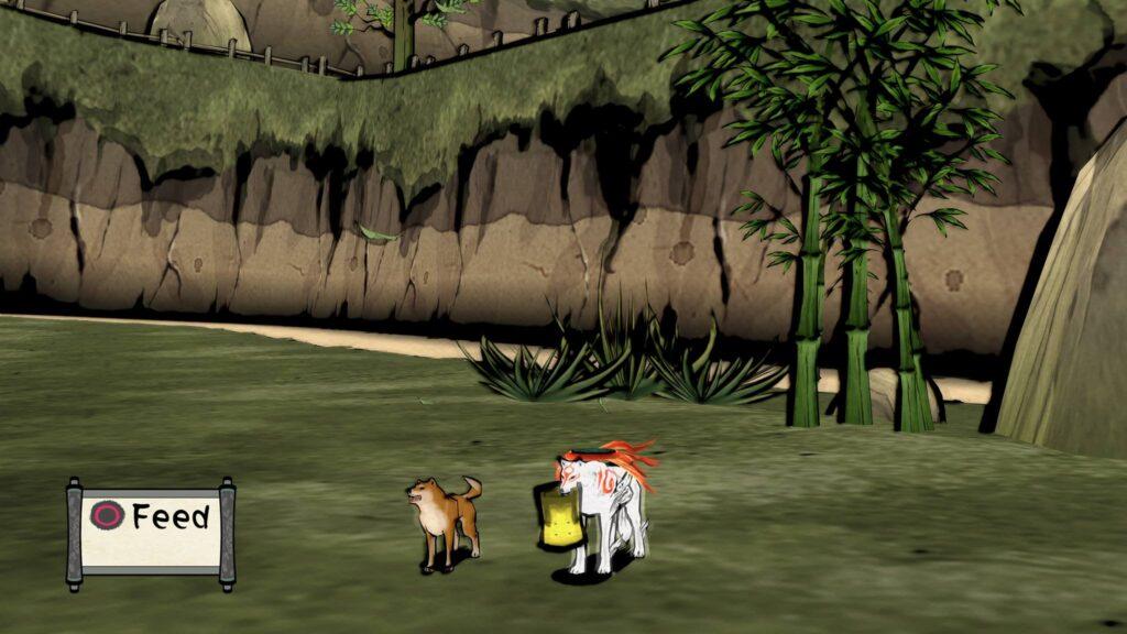 Screenshot Okami HD Amaterasu PS4 Pro Cerealkillerz