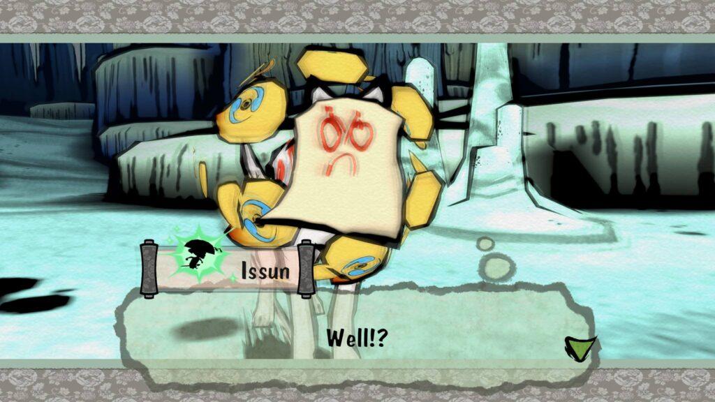 Okami HD PS4 Pro Drawing Boss Cerealkillerz